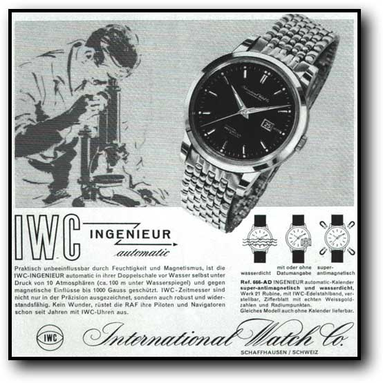 IWC ad from 1959